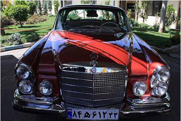 نمایشگاه خودروهای تاریخی در سعدآباد برگزار میشود