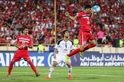 مباراة فريق برسبوليس طهران والوحدة الاماراتي /صور