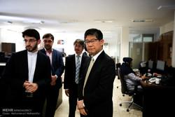 بازدید سفیر ژاپن از خبرگزاری مهر