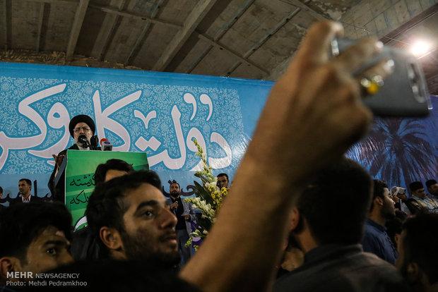 جولة المرشح الرئاسي ابراهيم رئيسي في محافظة خوزستان