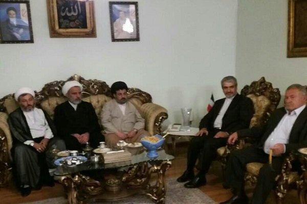 İran Büyükelçisi'nden Suriye'de önemli temaslar