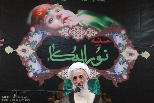 افتتاح کارگاه دوخت لباس شیرخوارگان حسینی