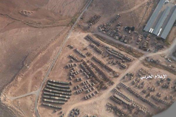 حشود عسكرية على الحدود الاردنية مع سوريا