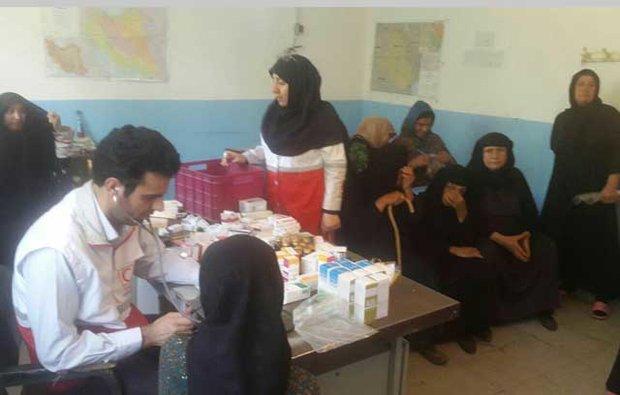 خدماترسانی رایگان بسیج جامعه پزشکی در روستای فیاضیه آبادان