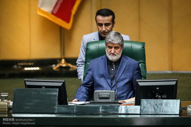 مشاركة نواب مجلس الشورى الاسلامي في إجتماع لجنة الطوارئ لمنظمة الطيران الإيرانية