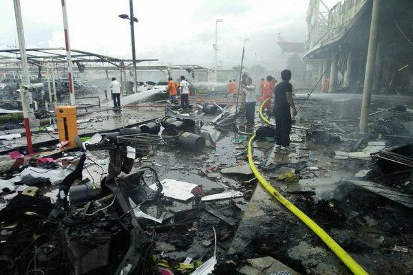 انفجار تایلند