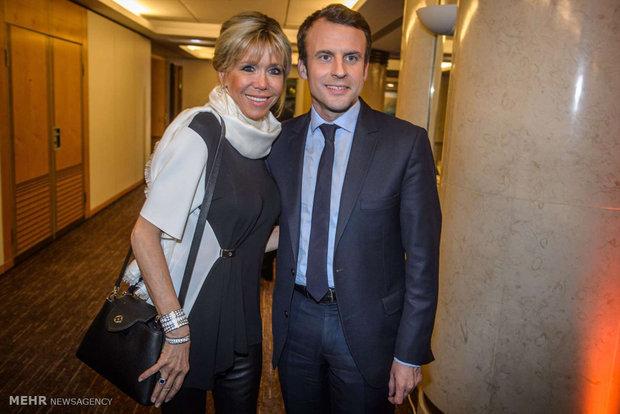 بانوی نخست جدید فرانسه