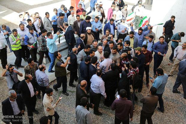 سفر محمد باقر قالیباف به اهواز