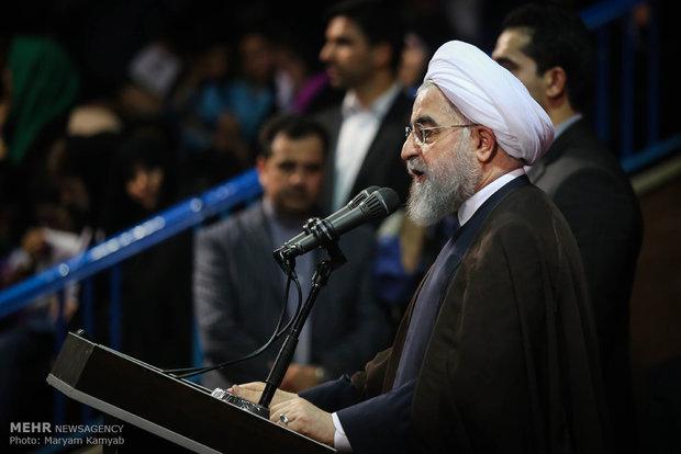 روحاني: سنعطي عائدات النفط الى المحرومين والمستضعفين
