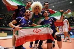 قهرمانی ایران در رقابت های والیبال امیدهای آسیا
