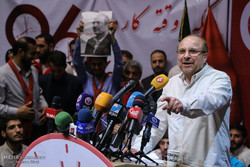Cumhurbaşkanlığı'na adayı olan Galibaf'ın seçim kampanyaları