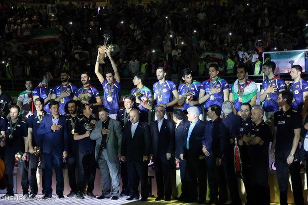ايران تحرز لقب بطولة آسيا للكرة الطائرة للشباب تحت 23 عاماً