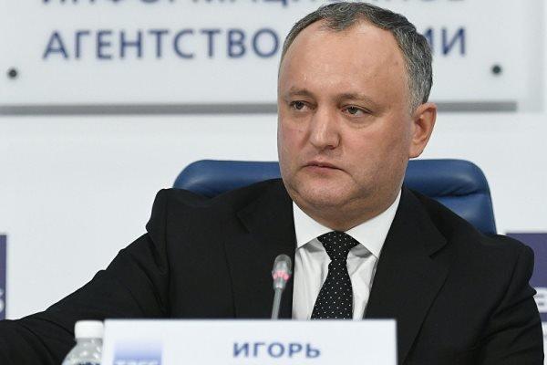 اختیارات رئیسجمهوری مولداوی تعلیق شد