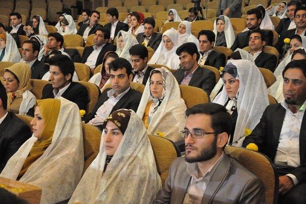 ثبت نام ۲۶۷ زوج دانشگاه آزاد فارس برای مراسم ازدواج دانشجویی