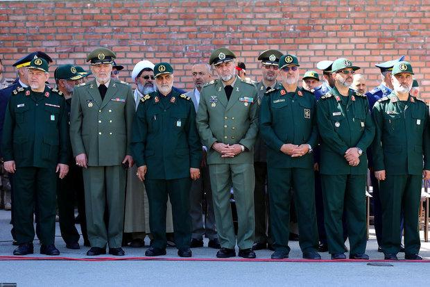 Ayatollah Khamenei attended IRGC cadets' graduation ceremony