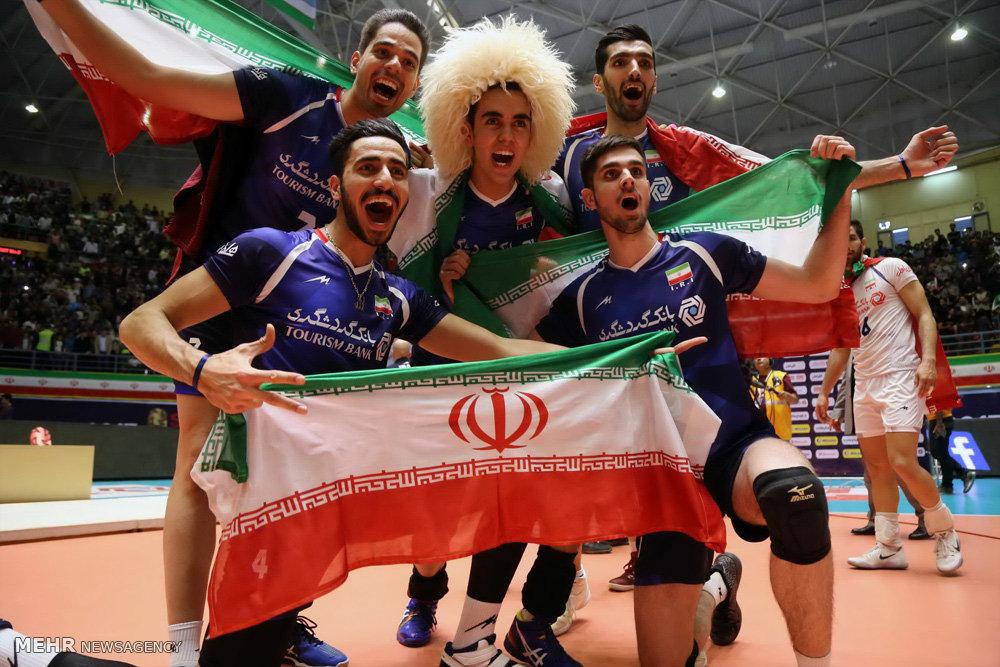 Iran U23 volleyball qualifies for world championship