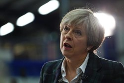 Theresa May calls Manchester Arena explosion 'an appalling terrorist attack'