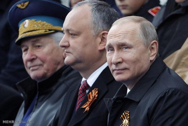 رژه روز پیروزی در روسیه