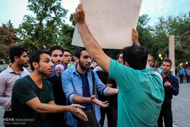 حمله هواداران قالیباف به محل سکونت روحانی