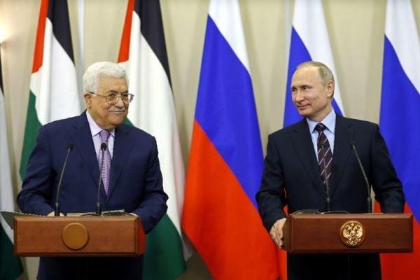 محمود عباس: لا يمكن حل القضية الفلسطينية بدون روسيا
