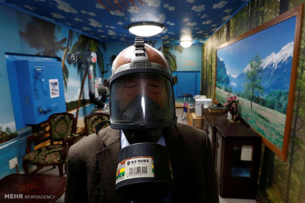 در امان ماندن از حمله اتمی در خانه