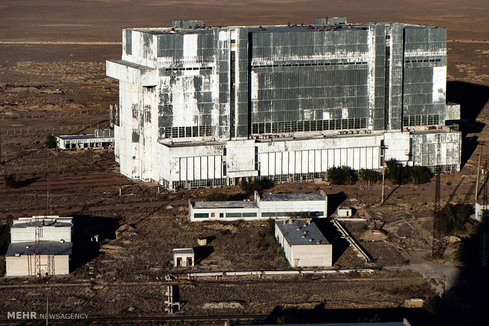 پایگاه فضایی متروکه در بایکانور قزاقستان