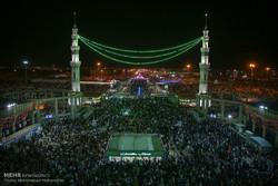 حال و هوای مسجد مقدس جمکران در نیمه شعبان
