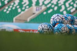لوگوی فوتبال - توپ فوتبال