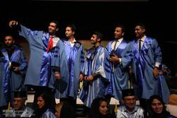 نهمین مراسم دانش آموختگی دانشجویان پردیس بین الملل دانشگاه صنعتی شریف