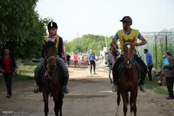 جشنواره بازیهای بومی محلی با اسب در سنندج برگزار می شود