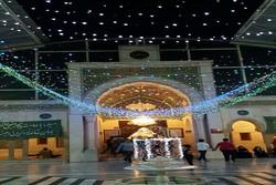 احياء مولد الامام المهدي (عج) في مرقد السيدة رقية (س) في دمشق /فيلم