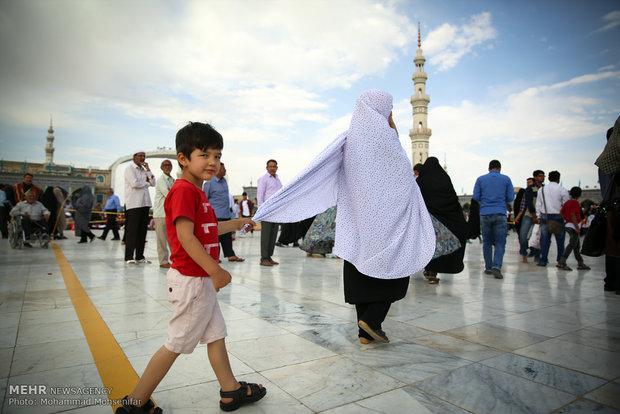 """أجواء مسجد """"جمكران"""" في ليلة النصف من شعبان"""
