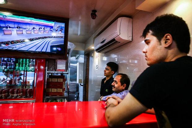 İran halkından münazaralara yoğun ilgi