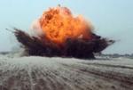 کشته و مجروح شدن ۳ نفر بر اثر انفجار مین در بستان