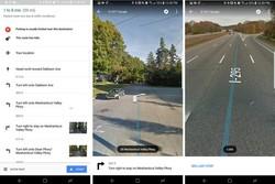 نقشه های گوگل محل دقیق تغییر مسیر رانندگی را نشان می دهند