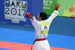 نسرین دوستی - کاراته