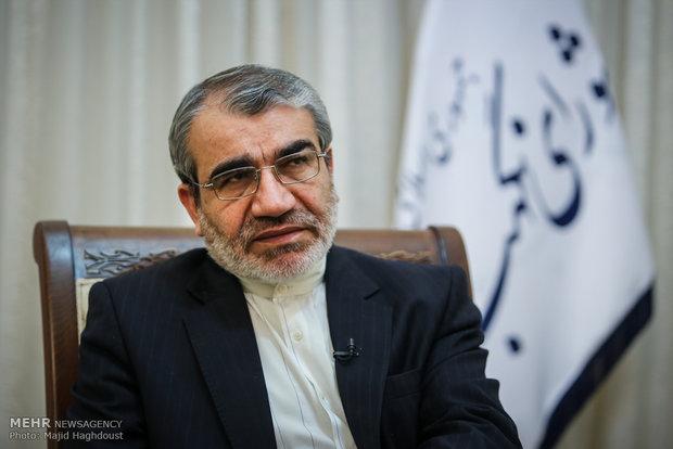 لقاء المتحدث باسم مجلس صيانة الدستور عباس علي كدخدائي مع وكالة مهر للأنباء