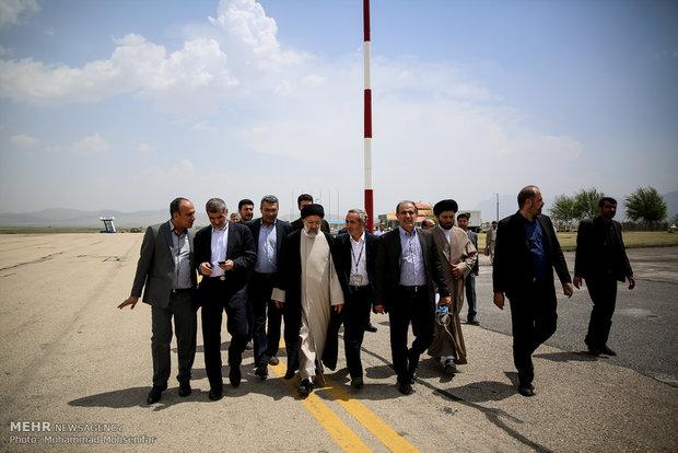 Cumhurbaşkanlığı seçim adayı Reisi'nin Şehrekürd ziyareti