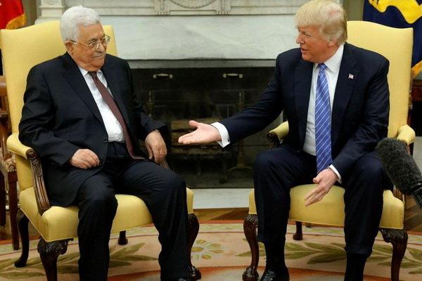 ترامپ تشکیلات خودگردان فلسطین را تهدید کرد