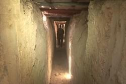 تونلهای کشف شده تروریستها در «القابون» دمشق