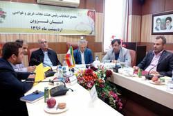 رئیس هیئت نجات غریق و غواصی استان قزوین انتخاب شد