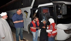 41 return from Jarablous camps to al-Waer neighborhood