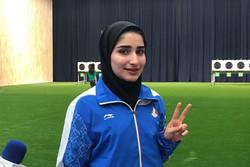 رياضية ايرانية تحرز الميدالية الحادي عشرة لموكب إيران بعد فوزها بالفضية