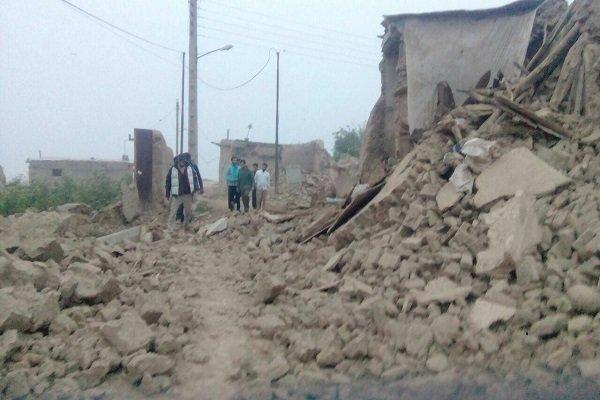 زلزال يهز خراسان الشمالية يودي بحياة اثنين ويوقع 210 جرحى