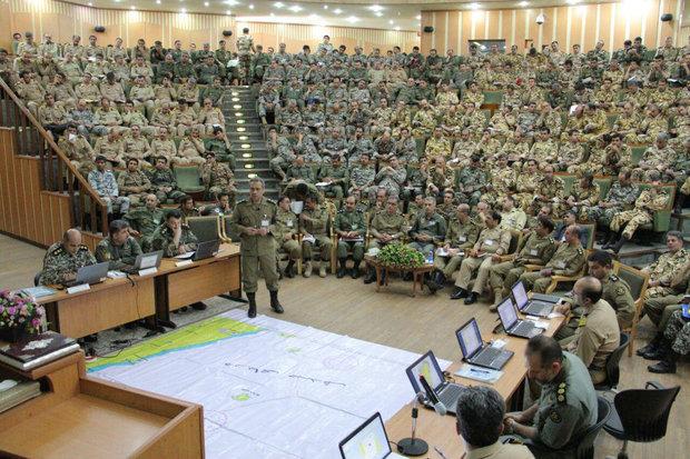 Iran's army holds Zolfaghar 97 war game in Tehran