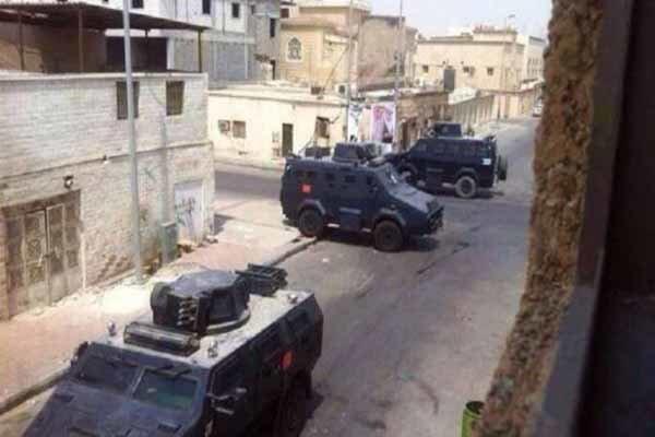 یورش خودروهای زرهی آلسعود به شهر شیعهنشین «العوامیه»