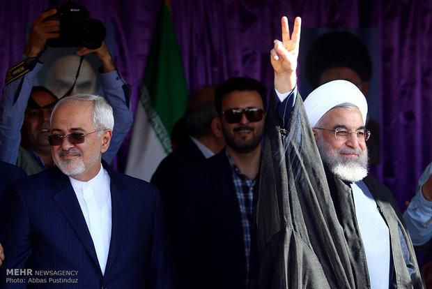 المرشح روحاني في محافظة اصفهان