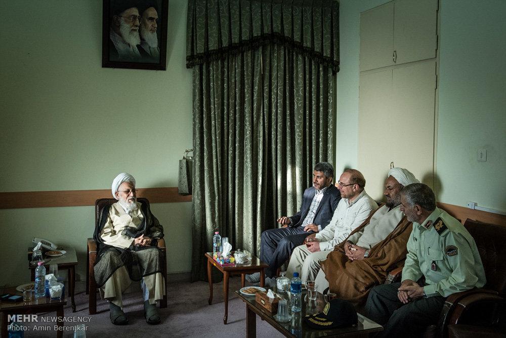 سفر محمد باقر قالیباف به شیراز