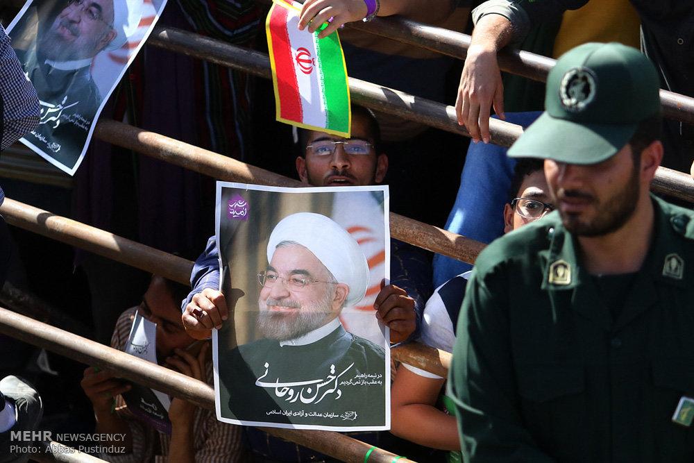 سفر حسن روحانی به استان اصفهان