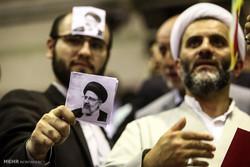 المرشح الرئاسي ابراهيم رئيسي يزور مدينة رشت /صور